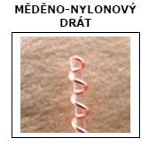 medeno nylonovy drat