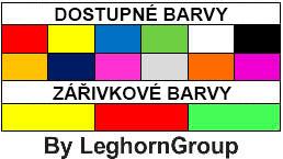 naramky vinylove naramky barvy personalizace