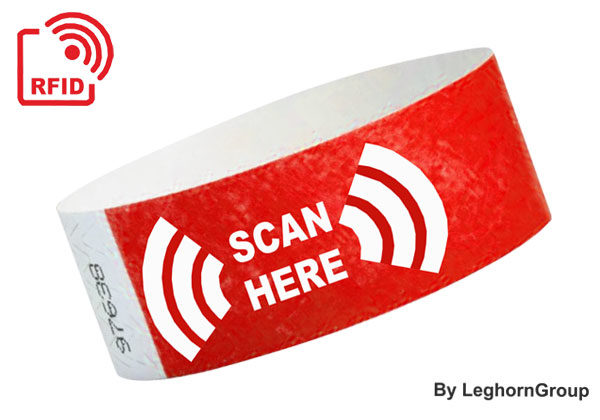 RFID Tyvek Náramek