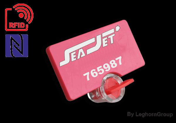 Plomba S Kabelem RFID UHF/HF/NFC TWIST SEALS